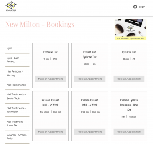 New Milton Online Bookings now live